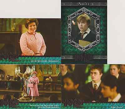HARRY POTTER AND THE ORDER OF THE PHOENIX TRADING CARDS- 10 CARD LOT #28-33 39