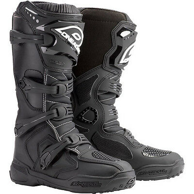 NEW O'Neal Element Black motocross dirt bike off-road MX ATV riding Boots