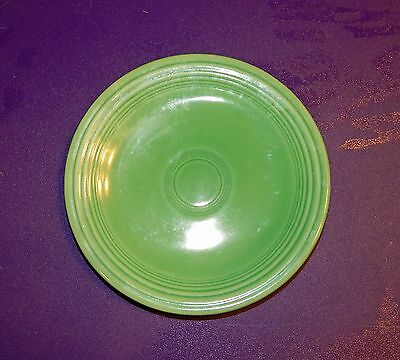 "Vintage Fiesta Ware 6¼"" Plate Green Fiestaware FREE SHIPPING w/in the U.S.!"