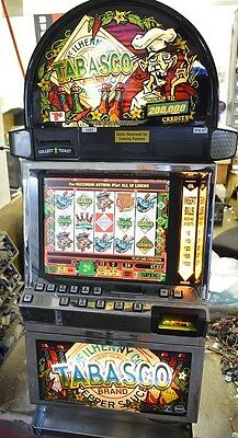 """IGT I-GAME COINLESS VIDEO SLOT MACHINE """"TABASCO"""""""