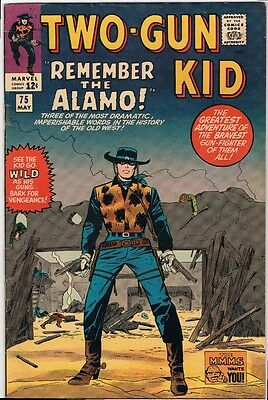 Marvel Two-Gun Kid #75 1965 F/VF OW/LT Great Cover! Story by Stan Lee! Rare!