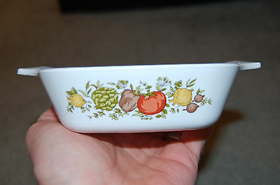 VINTAGE Corning Ware Spice of Life Casserole Dish 1 3/4 cup P-41-B