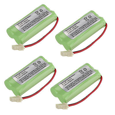 4 Cordless Home Phone Battery Pack for AT&T BT166342 BT266342 TL32100 TL90070