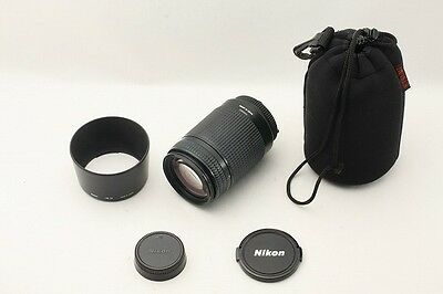 EXCELLENT+ Nikon AF Zoom Nikkor ED 70-300 mm F/4-5.6 4-5.6 D from Japan