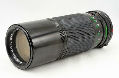 CANON New FD 100-200mm F5.6 from Japan 17524