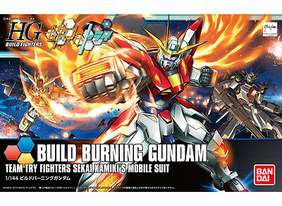 Bandai 1/144 New HG Build Fighters 018 BUILD BURNING GUNDAM from Japan Rare