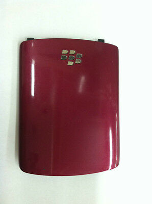 NEW OEM BLACKBERRY GEMINI 8520 8530 CURVE RED FUSCHIA BATTERY DOOR COVER