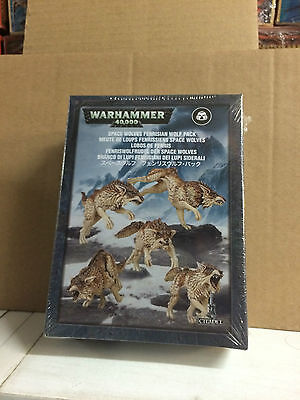 Warhammer 40.000 Space Wolves Fenrisian Wolf Pack, Nuevo