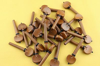 10 set (40pcs) high quality 4/4 Violin Pegs Jujube wood Violin Tuning Pegs