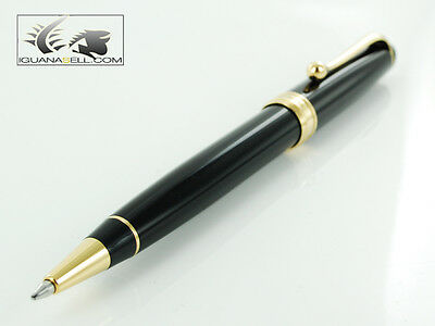 Aurora Ballpoint Pen 88 in Black Resin and Gold Plated