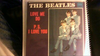 The Beatles Love Me Do & P.S. I Love You PICTURE SLEEVE ONLY excellent