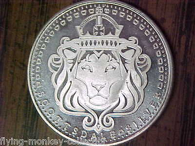 Scottsdale Silver Lion .999 Silver 1 Ounce Round - In Omnia Paratus 1-2615