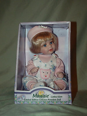 Maggie Collection Limited Edition Collector Porcelain Doll No.1