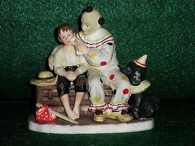 "Norman Rockwell ""The Runaway"" Ceramic Figurine - Gorham"