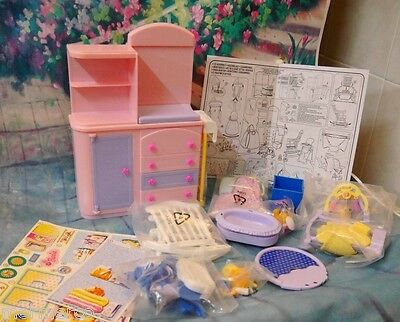 RARE 2002 BARBIE HAPPY FAMILY BABY NURSERY PLAYSET NEW Hard To Find