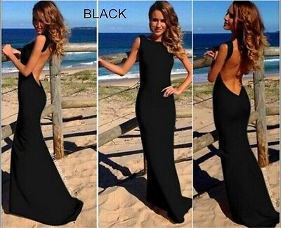 The European and American Style Women Sexy bandage Dress Party long Dress M