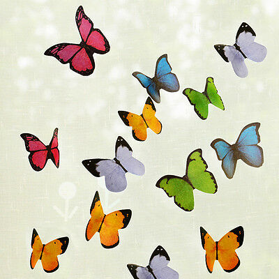 Butterfly Sticker Post It Bookmark Marker Memo Index Tab Flags Sticky Notes