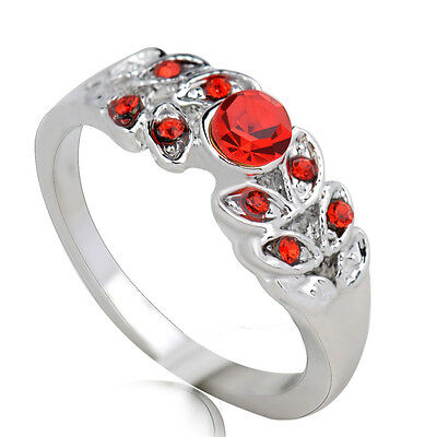 Hot sale new fashion inlaid upscale jewelry S80 Silver CZ rings    **R371-8
