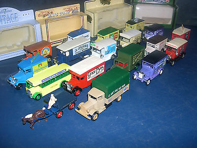 LLEDO CLASSIC VANS   DIE CAST VEHICLES ---- click on the site to chose and order