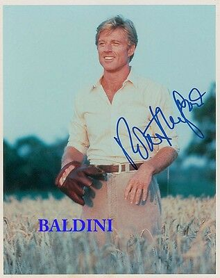 Robert Redford Signed 10X8 Photo,  Great Film Still Image, Looks Great Framed