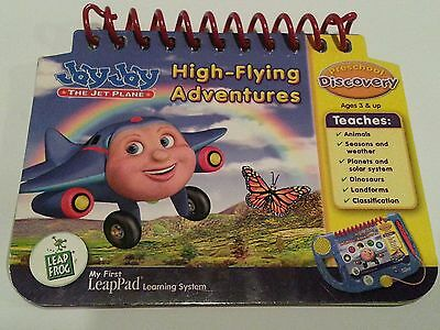 My First Leap Pad LeapFrog Preschool Reading Book JayJay High Flying Adventures
