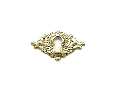 Keyhole Cover Plates Escutcheons Sold In Pairs For Antique Victorian Furniture