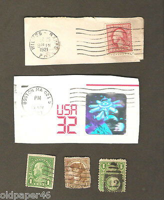 Vintage Lot US Postage,Rare,Unusual,Odd. Great Collectibles PH2