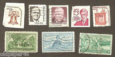 Vintage Lot US Postage,Rare,Unusual,Odd. Great Collectibles PH14