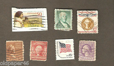 Vintage Lot US Postage,Rare,Unusual,Odd. Great Collectibles PH3