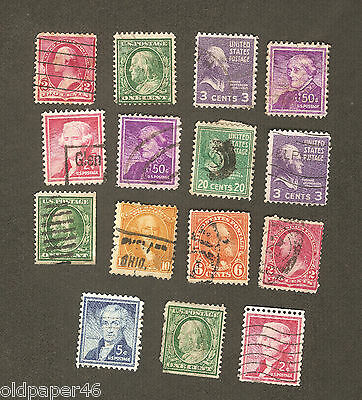 Vintage Lot US Postage,Rare,Unusual,Odd. Great Collectibles VL5