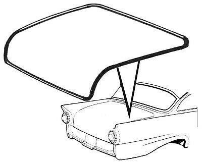1952-1959 FORD CAR TRUNK LID SEAL