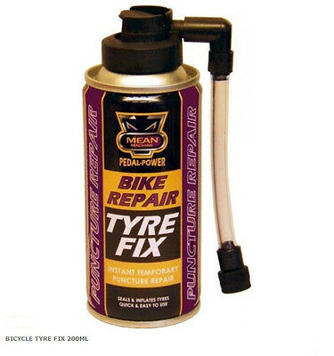 Bike Motorcycle Bicycle Instant Temporary Puncture Tyre Repair Fix Sealant 200ml