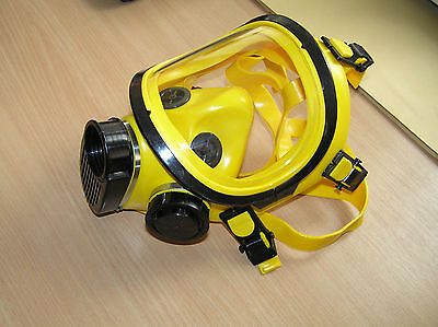 Russian Brand New FULL FACE GAS MASK Yellow PPM 88, BRIZ PPM88 ppm-88 4301
