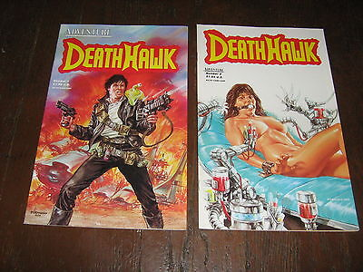 STAR RANGERS 1 2 3 AND 4 W/ DEATH HAWK 1 AND 2 ADVENTURE COMICS 1987 1988 VF NM