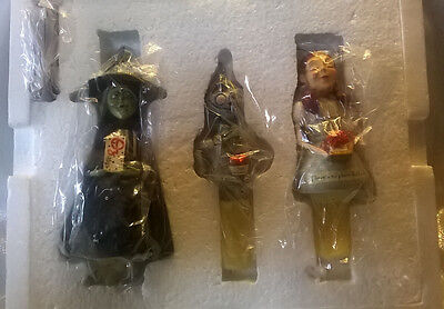 The Whimsical Wizard of OZ Ornament Collection - Dorothy, Tin Man, Wicked Witch