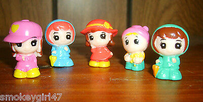 Squinkies Lot of 5 - Friends, Babies, New Loose - Retired