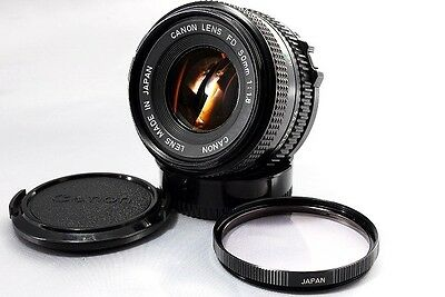 "Canon Lens New FD 50mm f1.8 ""Near Mint"" From Japan!!"