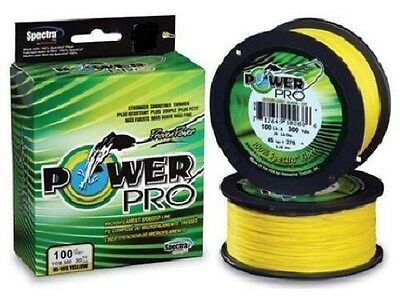 Power Pro Braided Spectra Fishing Line 40lb by 500yds Yellow