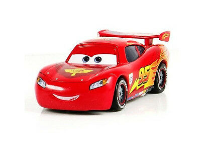 Mattel Disney Pixar Car 1 Lightning Mcqueen 1:55 Metal Diecast Toy Loose Car
