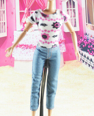 lovely New Handmade Party Clothes Fashion Dress for Noble Barbie Doll   **W15
