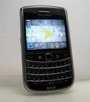 BlackBerry Bold Sprint 9650 - Black Unlocked Smartphone any GSM SIM Card