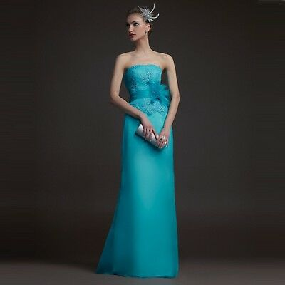 Women Formal long Prom Dress Ball Gown Cocktail Party Evening dress Size S LXL06