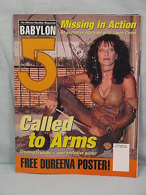 """Babylon 5 Magazine   """"Missing in Action""""      Number 8   March 1999"""