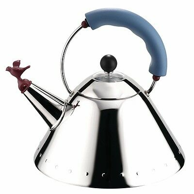 ALESSI 9093 Michael Graves Tea Kettle--Made in Italy--New With Tag