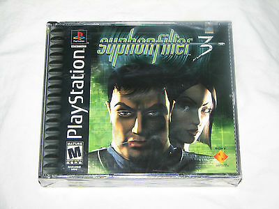 *RARE* BRAND NEW SEALED Syphon Filter 3 FREE SHIPPING
