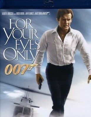 For Your Eyes Only Blu-ray Blu-ray New ROGER MOORE // CANADA $9 WORLD $12