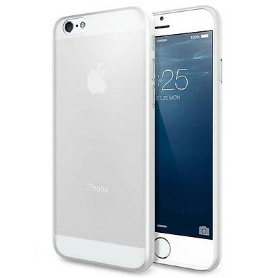 Transparent Matte Skin Back Hard Case Cover For Apple iPhones 6 plus 5.5""