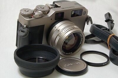 EXCELLENT+ CONTAX G1 35mm Camera - Carl Zeiss Planar T* 45 From Japan