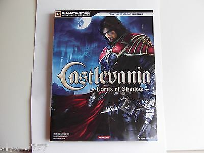 Castlevania: Lords of Shadows Guide Book by BRADYGAMES for PS3 /Xbox360 NEW,Rare