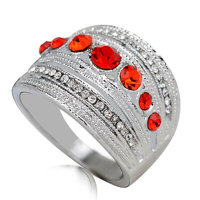 Hot sale new fashion inlaid upscale jewelry S80 Silver CZ rings    **R422-7